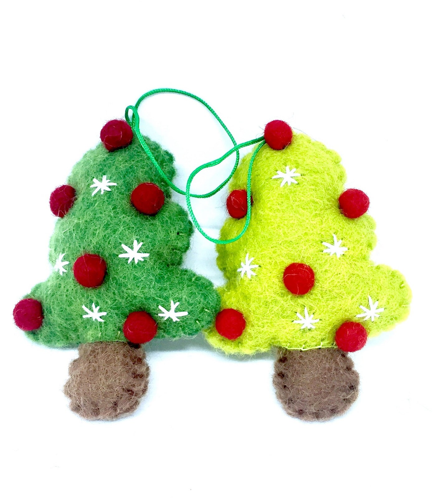 Pashom Felt Xmas tree with balls