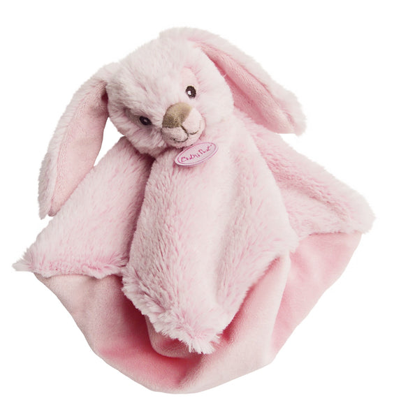 Baby Nat rabbit doudou pink