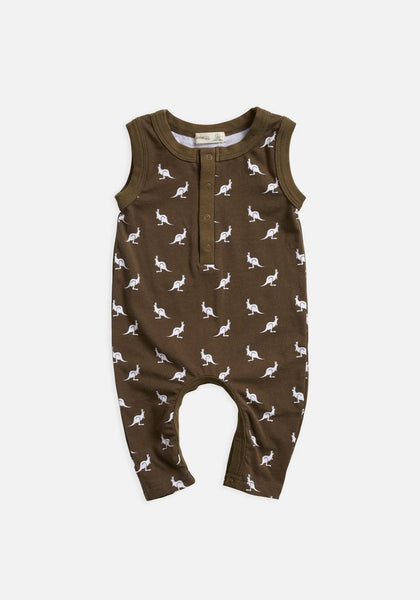 Miann & Co Portobello mini kangaroo kids sleeveless suit