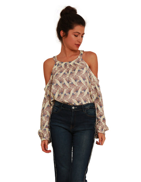 Blusa Adulto Leque