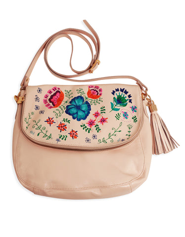 Soho Bag Exclusiva Flores Nude