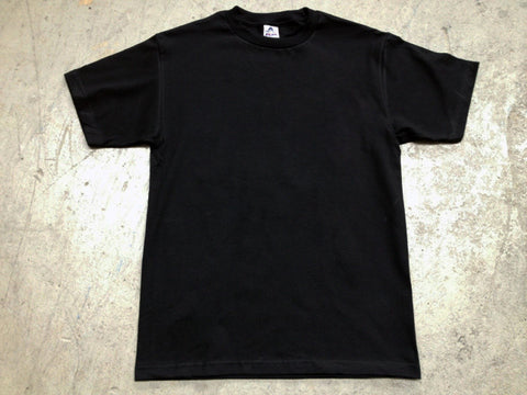 Blank AAA Tee shirt in black