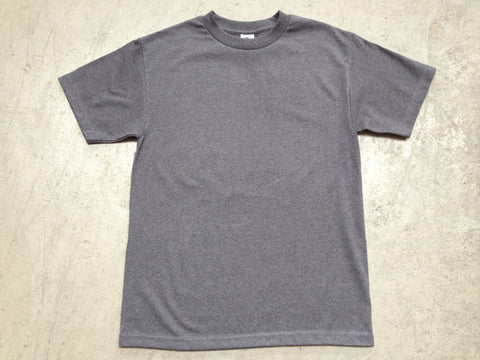 Blank AAA Tee shirt in Charcoal Heather