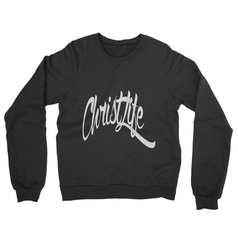 ChristLife Logo Black Crewneck Sweatshirt