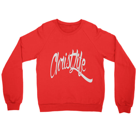ChristLife Logo Red Crewneck Sweatshirt
