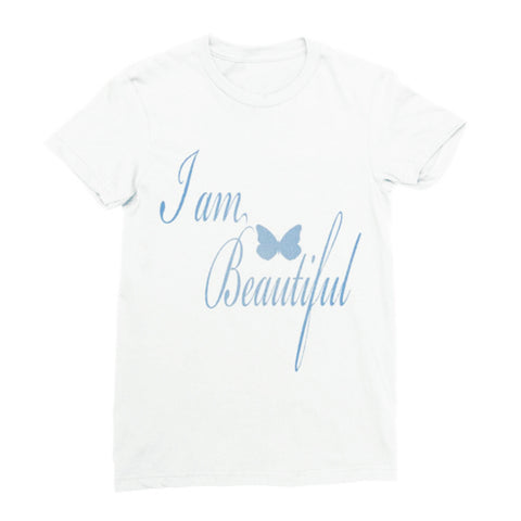 I Am Beautiful White Tee