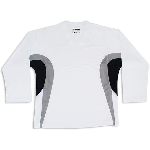 Team Hockey Jersey Tron DJ200 - White/Black