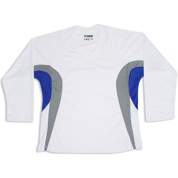 Team Hockey Jersey Tron DJ200 - White/Royal