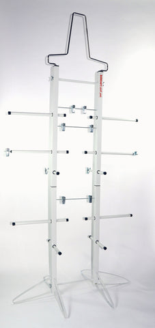Wet Gear Double Metal Hockey Dryer Rack