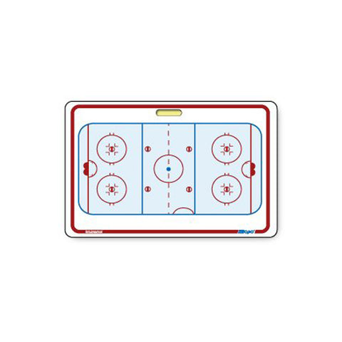 "Berio Topo Hockey Coach Board w/Ventouse (20"" X 28"")"