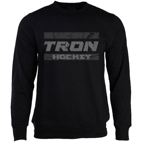 Tron Grunge Senior Fleece Sweatshirt