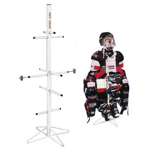 Wet Gear Single Metal Hockey Dryer Rack
