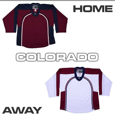 Replica Hockey Jersey Tron DJ300 - Colorado