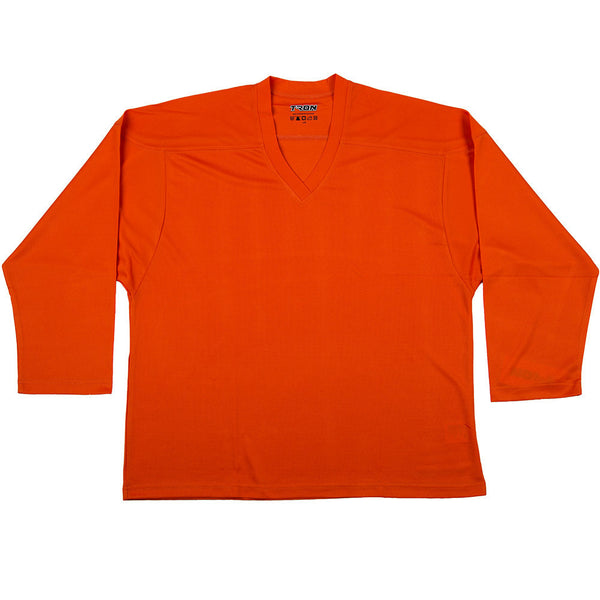 Tron Practice Hockey Jersey DJ100 - Orange