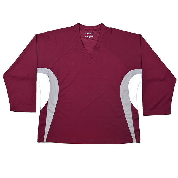 Team Hockey Jersey Tron DJ200 - Maroon