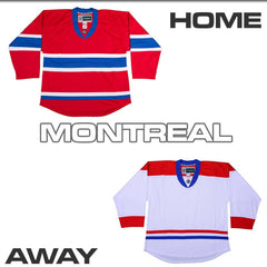 Replica Hockey Jersey DJ300 - Montreal