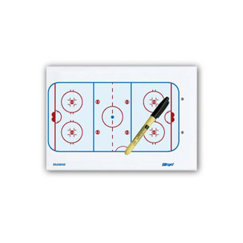 Berio Topo Econ Clip Board Light Hockey (13'' X 9'')