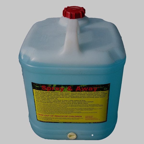 Spray & Away 20 Litre Moss Mould Lichen Killer