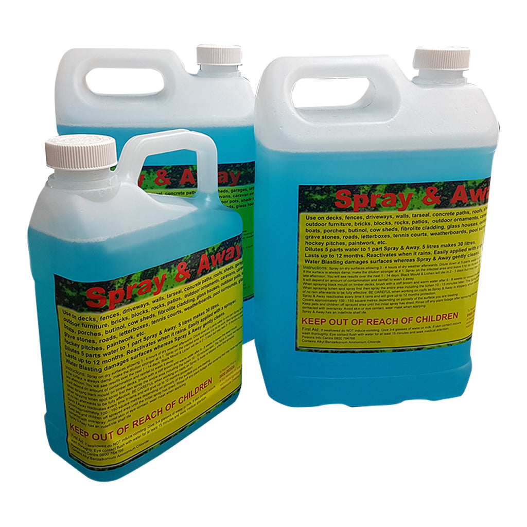 Spray & Away 2 x 5Litres & Bonus 2 Litre