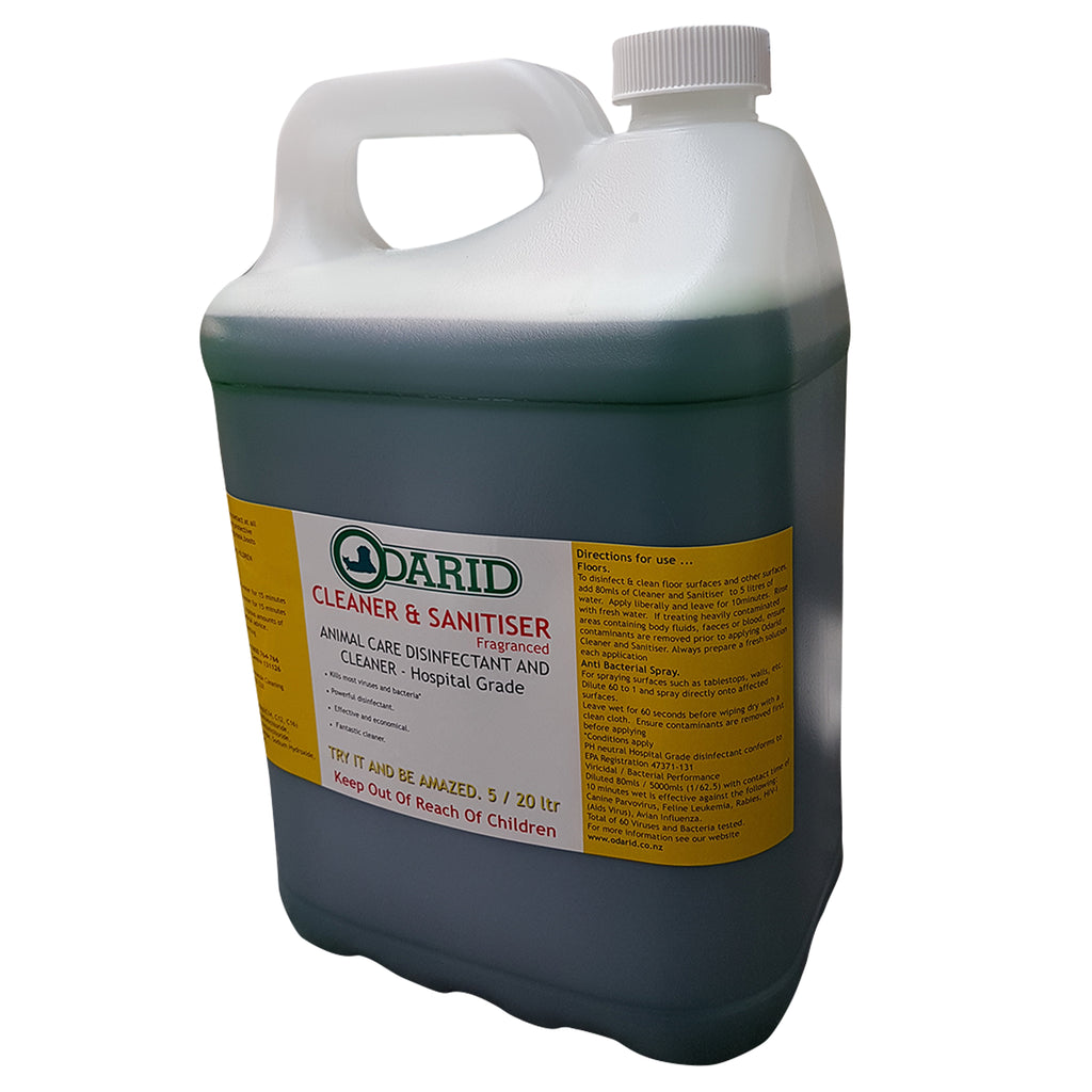 Cleaner and Sanitiser / Disinfectant 5 Litre