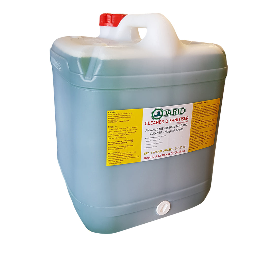 Cleaner and Sanitiser / Disinfectant 20 Litre FRAGRANCED