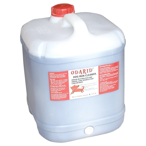 Dog Run Cleaner and Odour Remover / Disinfectant 20 Litre NON FRAGRANCED