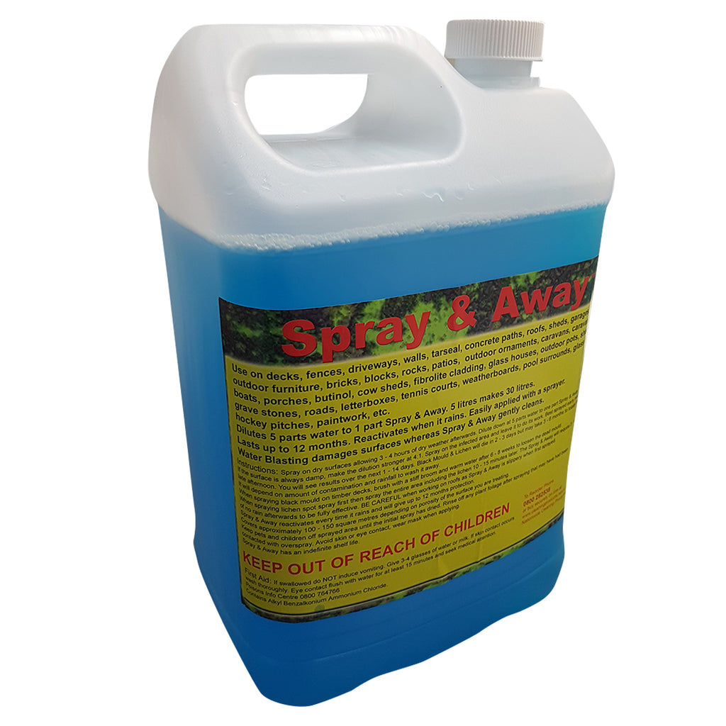 Spray & Away 5Litre Moss-Mould-Lichen Killer