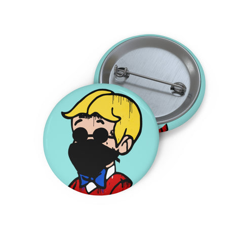 Gangsta Richie Pin Button