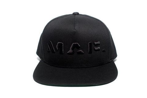 MAF. Flat Cap Black