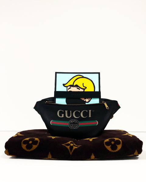 in my gucci on my loui