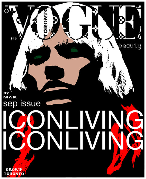 Vogue September 2019 cover by MAF.