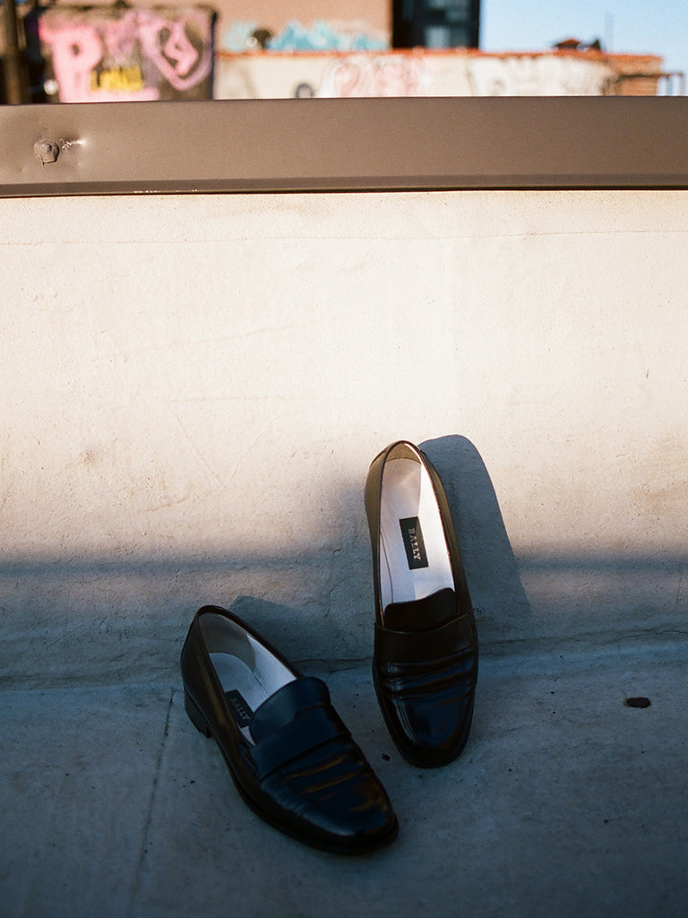 VINTAGE BALLY SIMPLE LOAFER