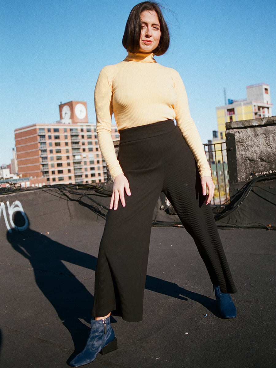BASIC COLOR PANT / BLACK