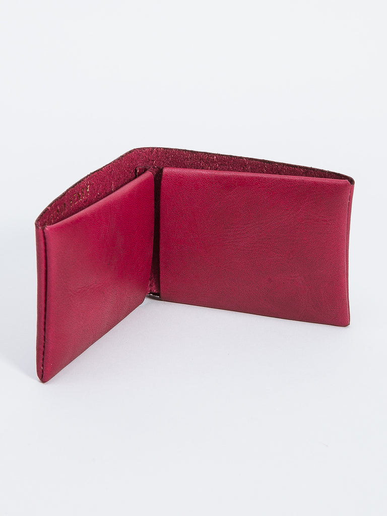 BIFOLD WALLET / OXBLOOD LEATHER
