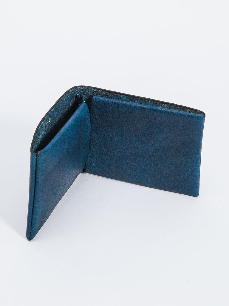 BIFOLD WALLET / NAVY LEATHER