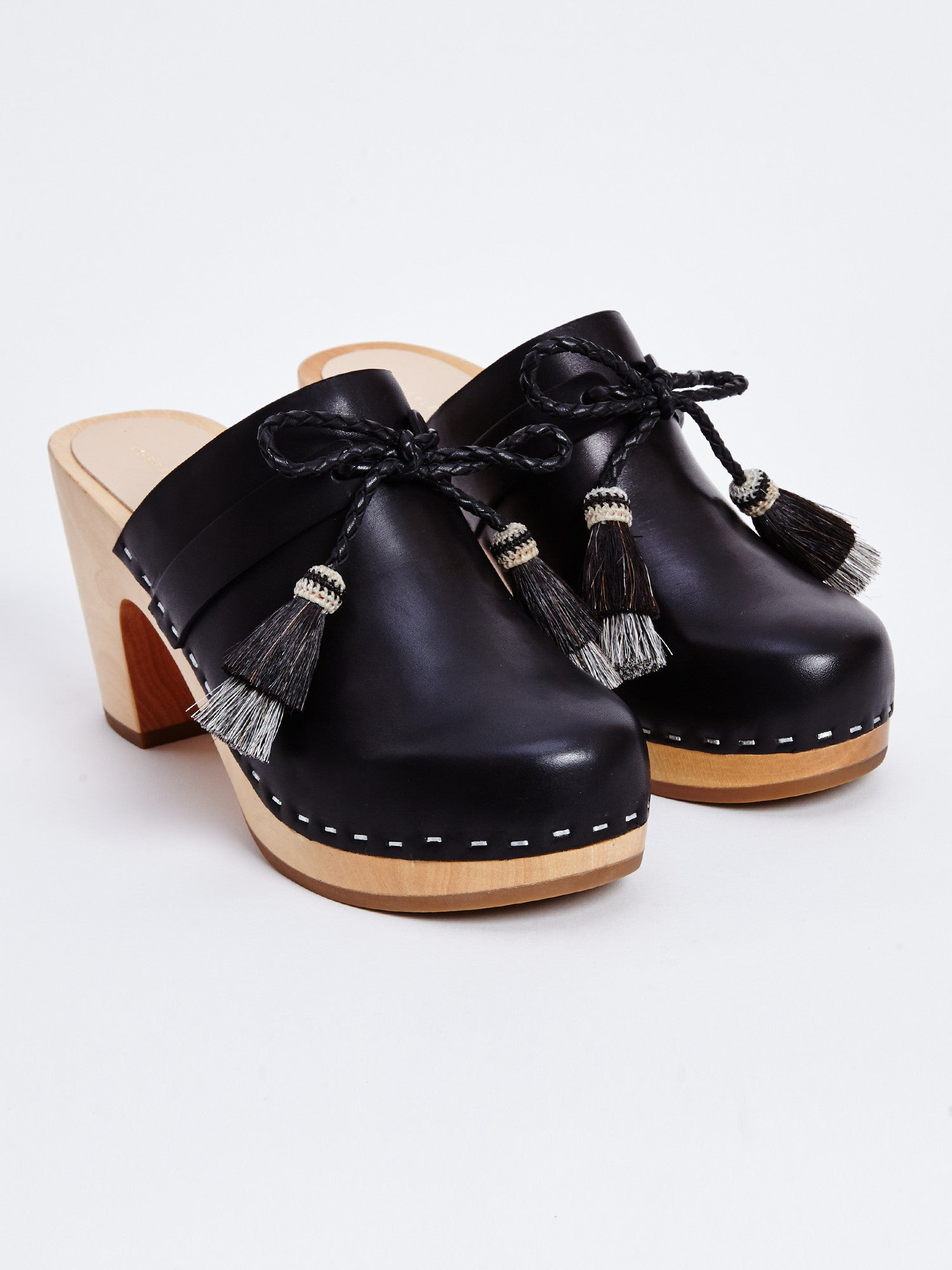 HADLEY LEATHER CLOG