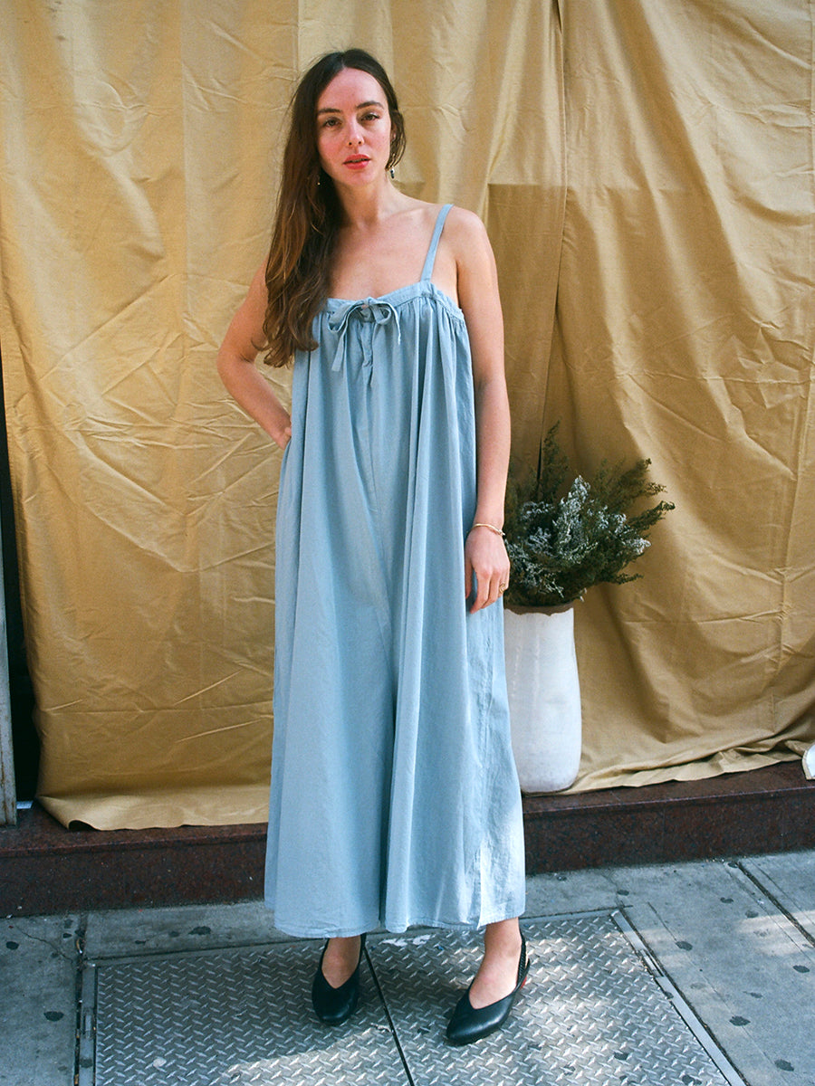 MARSELLA JUMPSUIT / BLUE