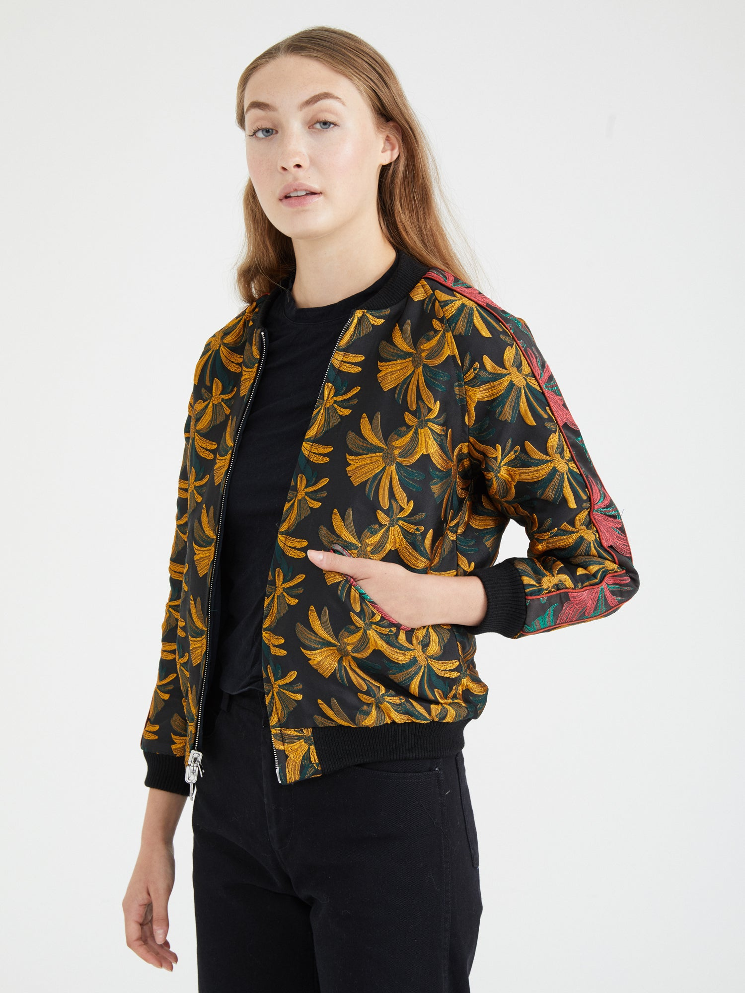 CAPTAIN REVERSIBLE BOMBER / DARK TROPICAL