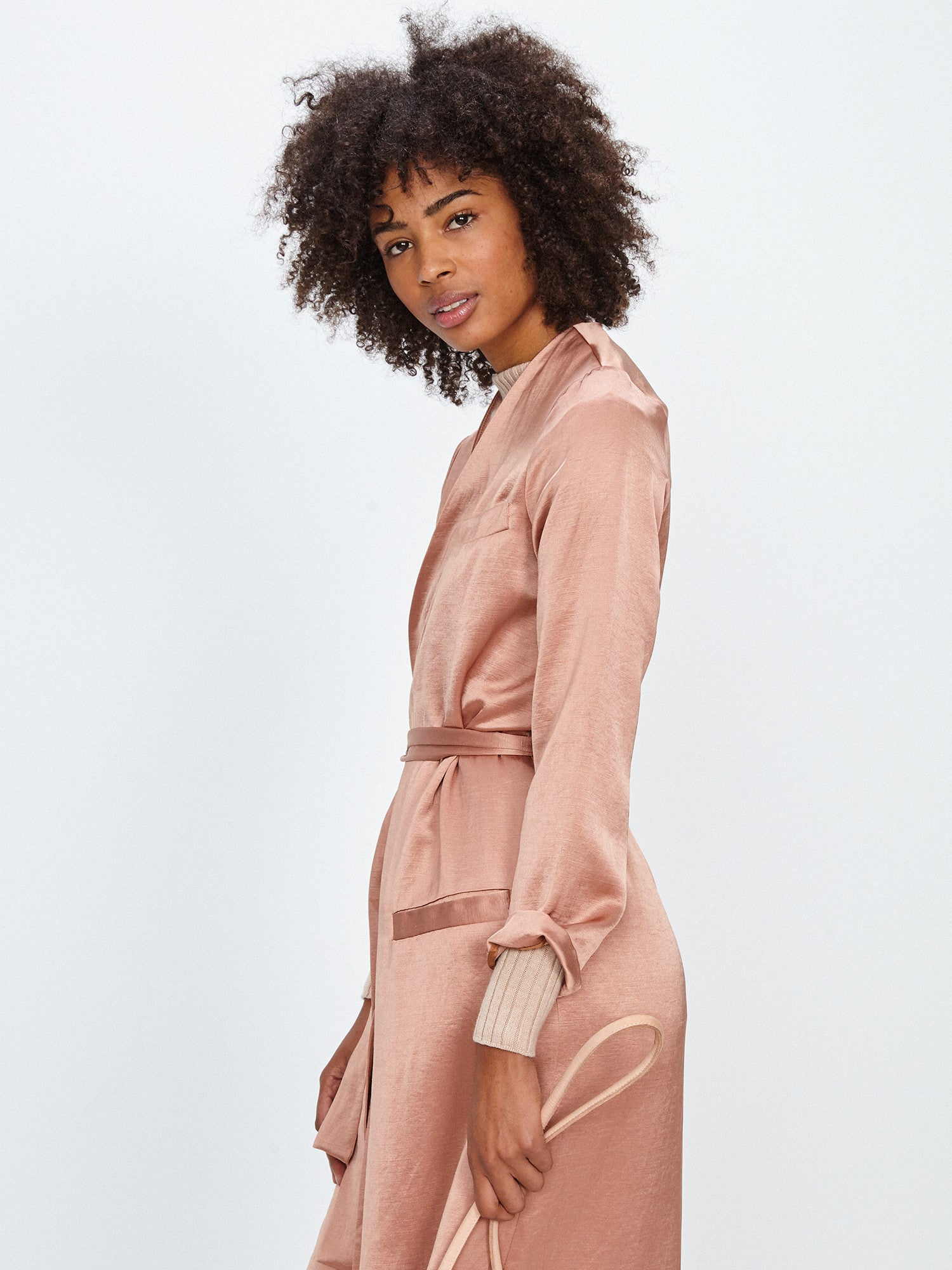 MORETTI ROBE JACKET / ROSE