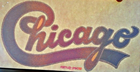 chicago, band, concert, vintage, 70s, t-shirt, iron-on