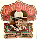 Rare Gene Autry 70s Vintage t-shirt iron-on transfer Original Authentic retro diy American cowboy fashion nos
