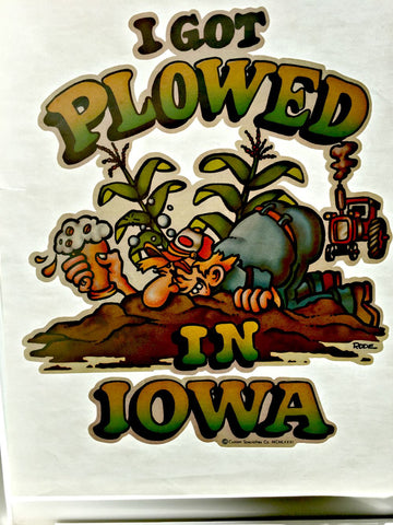 plowed, buzzed, drunk, iowa, farmer