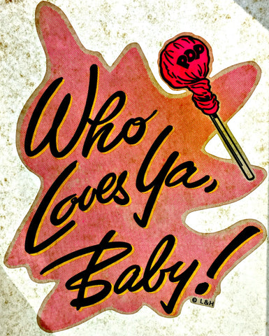 who loves you baby, girlfriend, 70s vintage t-shirt iron-on