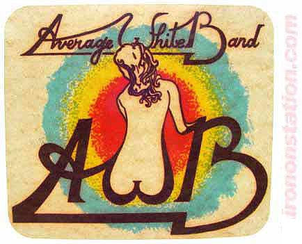 Average White Band, t-shirt iron-on