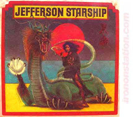 jefferson starship, airplane, vintage, 70s, t-shirt, iron-on