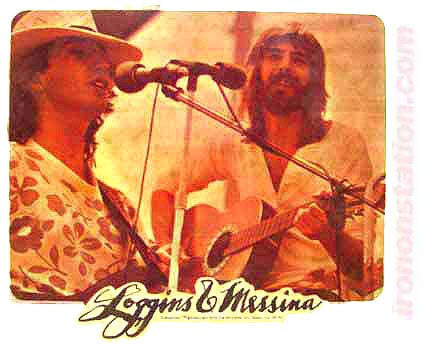 LOGGINS and MESSINA Rock Concert Vintage Band tee shirt Iron On Authentic 70s retro NOS