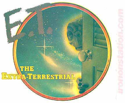 ET The Extra Terrestrial 1982 Vintage t-shirt iron-on transfer Original Authentic 70s retro graphic tee patch, Speilburg