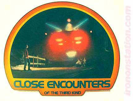 CLOSE ENCOUNTERS of the Third Kind 70s Vintage Movie Iron On tee shirt transfer Original Authentic nos retro