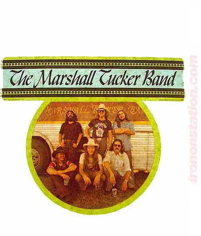 70s The MARSHALL TUCKER Band Rock Concert Vintage tee shirt Iron On Authentic NOS retro