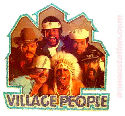 The VILLAGE PEOPLE 70s Vintage rock band tee shirt Iron On Authentic nos retro ymca